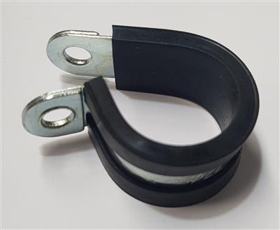 Rubber Line P Clamp