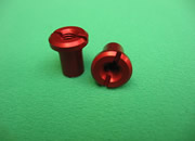CLUTCH NUT-RED