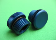 GM OIL FILLER CAP-BLUE
