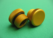 GM OIL FILLER CAP-GOLD