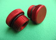 GM OIL FILLER CAP-RED