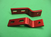 FRONT SEAT BRACKET-RED