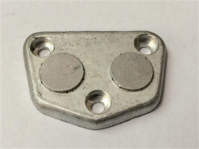 Oil Pump End Plate - Plain 890 2 valve