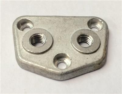 Oil Pump End Plate - Threaded 890 2 valve