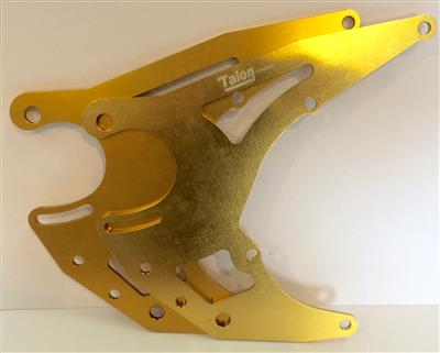 Talon Engine Plates JAWA No4 Gold(TEP03x)