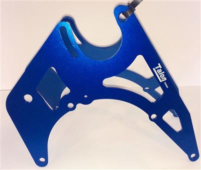 Talon Engine Plates JAWA No1 Blue(TEP06/66x-07/66x)