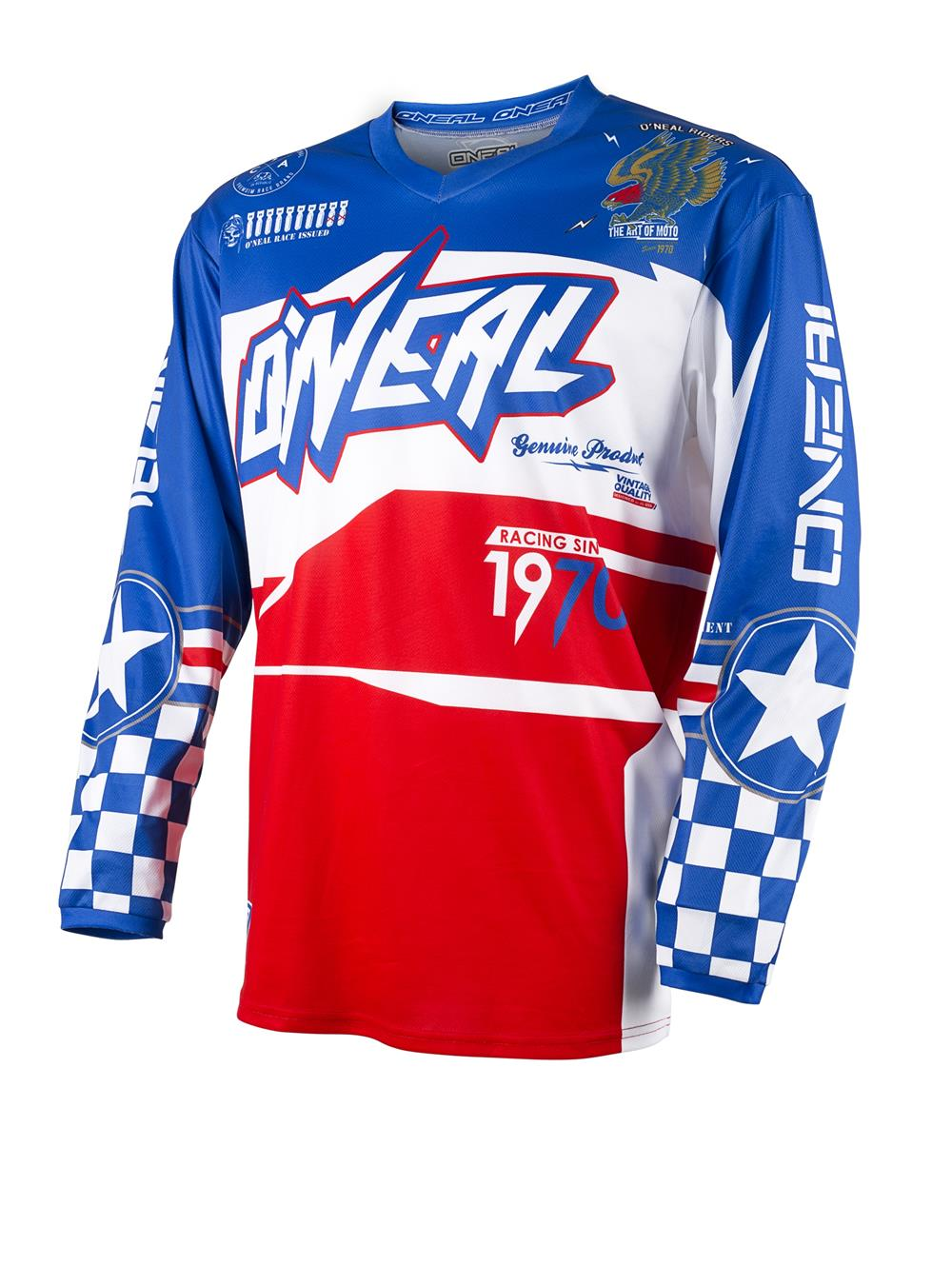 oneal-2017-sm-element-after-burner-jersey-bluered-adult-