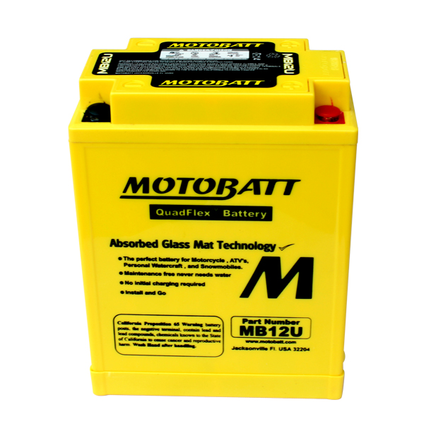 MB12U MOTOBATT 12V BATTERY