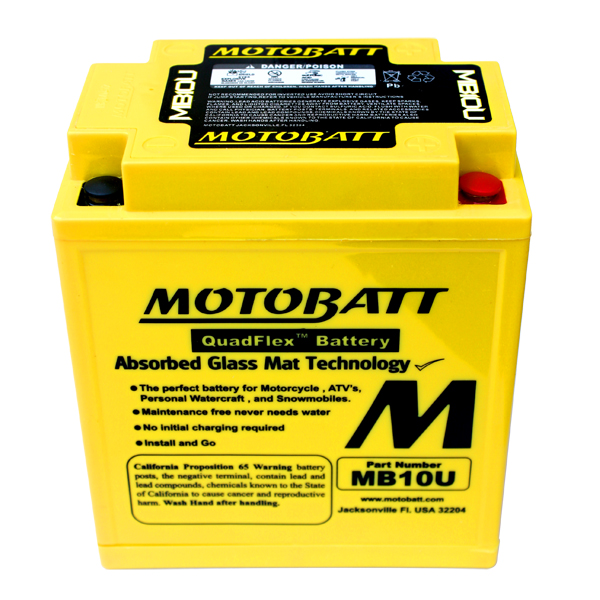 MB10U MOTOBATT 12V BATTERY
