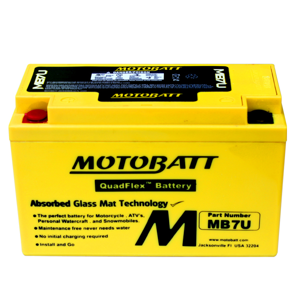 MB7U MOTOBATT 12V BATTERY