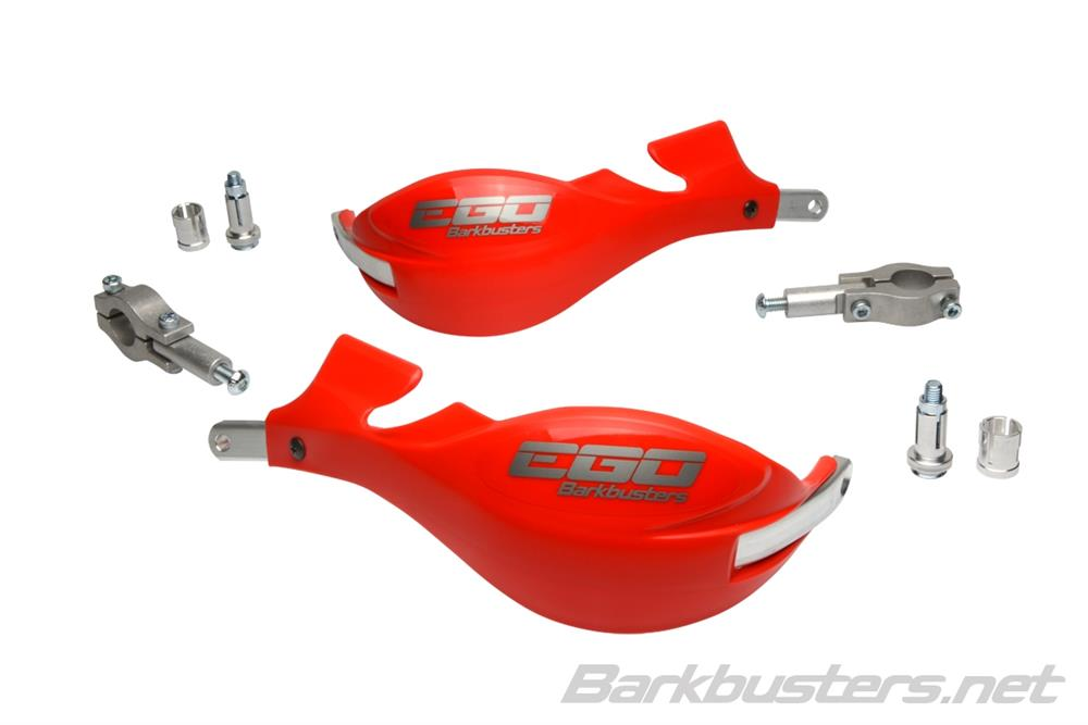 EGO Barkbusters RED Plastic 7/8clamp