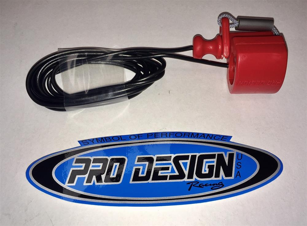 Pro Design Cut Out Red