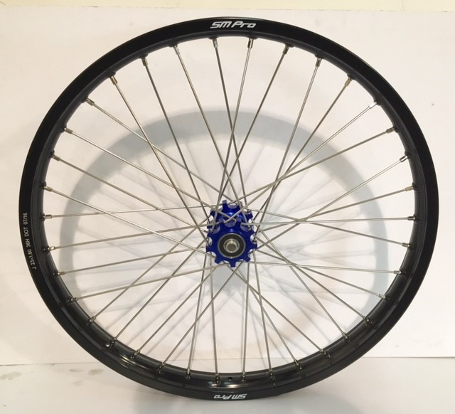 smpro-front-wheel-blue-hub-black-rim
