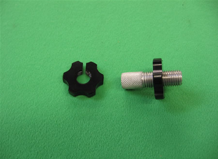 Clutch lever Adjuster Nut LARGE BLK 7mm