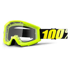 100%mx-strata-goggle-neon-yellow