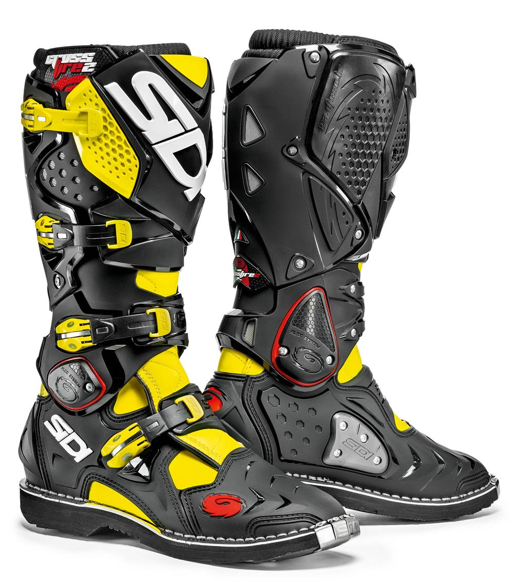 sidi-crossfire-2-yellow-fluro-black