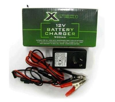 X TECH BATTERY CHARGER