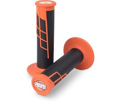 PT GRIPS CLAMP ON 1/2 WAFFLE OR/BK