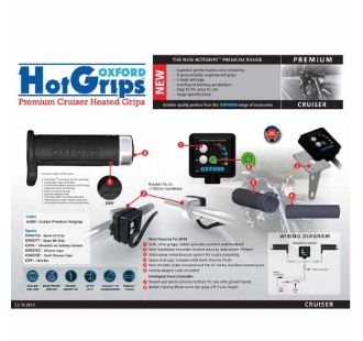 OXFORD HOT GRIPS PREMIUM - CRUISER 1