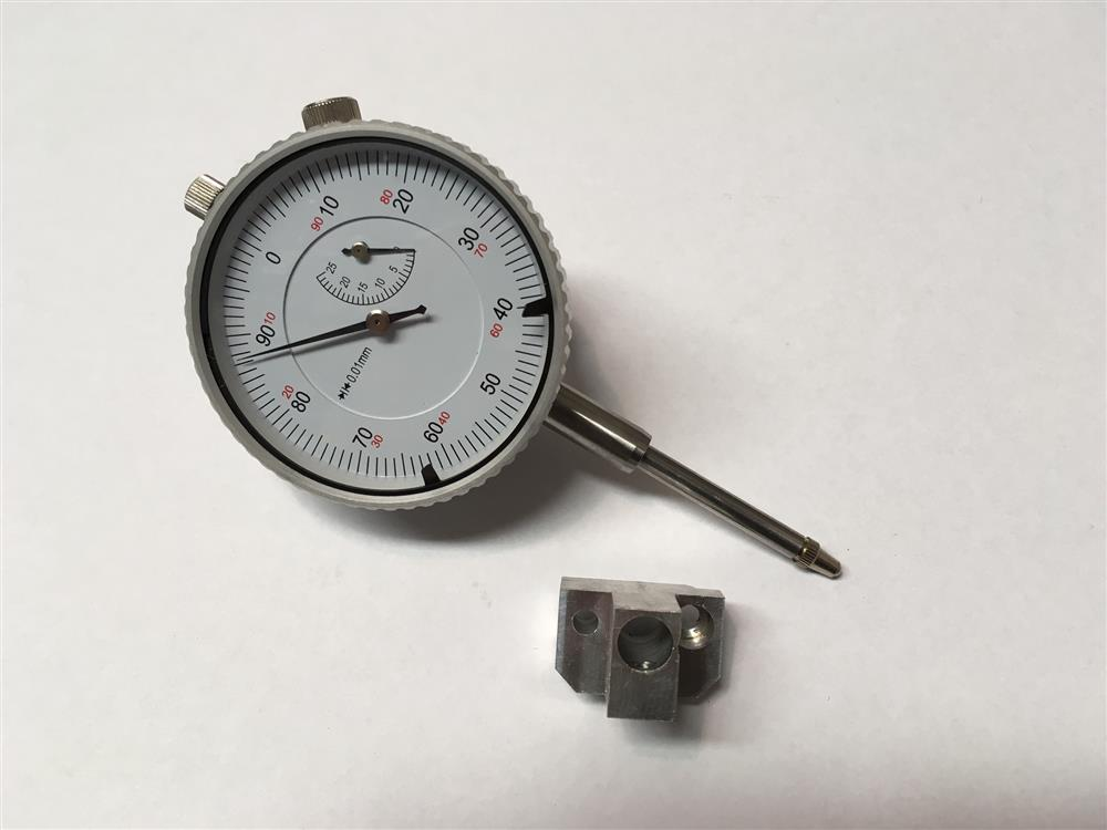 TUNING DIAL GUAGE WITH HOLDER